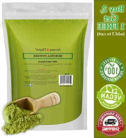 1lb Moringa oleifera Leaf Powder 100% Pure Natural  Superfoo