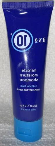 It's a 10 Miracle Daily Moisture Shampoo & Conditioner Mini