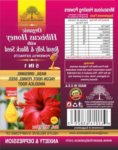 Organic Honey With Royal Jelly Seed 5 1