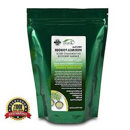 Moringa Oleifera Leaf Powder - Organic - 100% Pure - 8oz Res