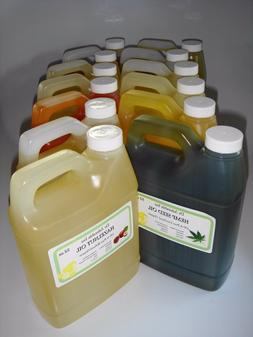 Organic Carrier Oils in Ready to Use Glass Vials Bottles Jus