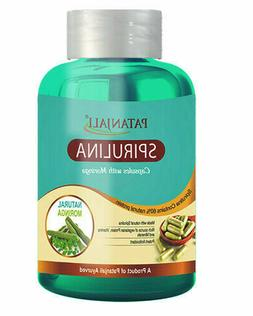Patanjali Spirulina 60 Capsules  Superfood Rich in Protein